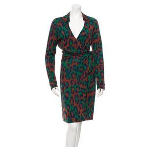 DIANE VON FURSTENBERG Silk Savannah Dress